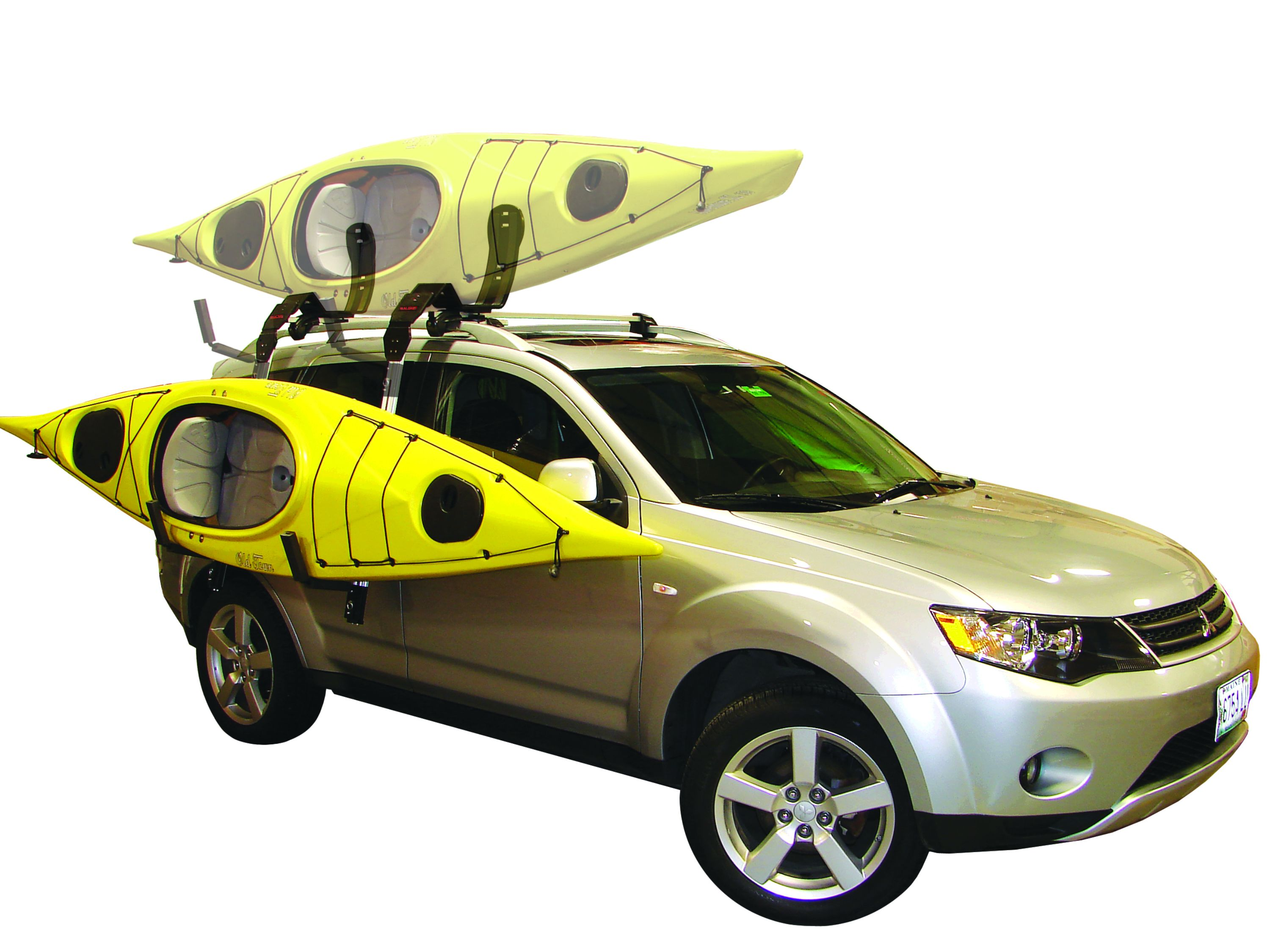 How To Carry  Kayaks On A Car